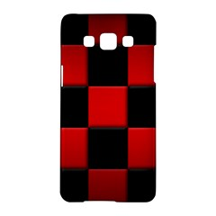Black And Red Backgrounds Samsung Galaxy A5 Hardshell Case