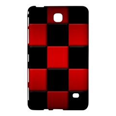Black And Red Backgrounds Samsung Galaxy Tab 4 (7 ) Hardshell Case