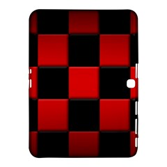Black And Red Backgrounds Samsung Galaxy Tab 4 (10 1 ) Hardshell Case