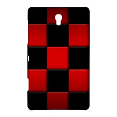 Black And Red Backgrounds Samsung Galaxy Tab S (8 4 ) Hardshell Case