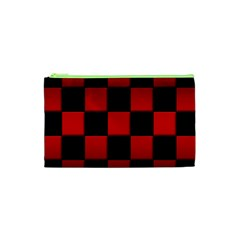 Black And Red Backgrounds Cosmetic Bag (xs)