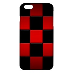 Black And Red Backgrounds iPhone 6 Plus/6S Plus TPU Case