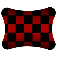 Black And Red Backgrounds Jigsaw Puzzle Photo Stand (bow)