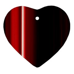 Black And Red Ornament (Heart)