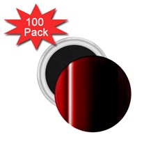 Black And Red 1 75  Magnets (100 Pack)