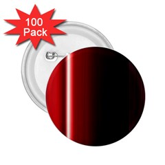 Black And Red 2 25  Buttons (100 Pack)