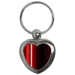 Black And Red Key Chains (heart)