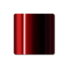 Black And Red Square Magnet