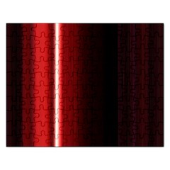 Black And Red Rectangular Jigsaw Puzzl