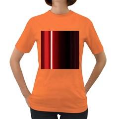 Black And Red Women s Dark T-Shirt