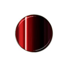 Black And Red Hat Clip Ball Marker (4 Pack)