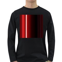 Black And Red Long Sleeve Dark T Shirts