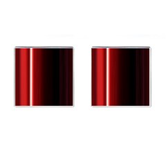 Black And Red Cufflinks (square)