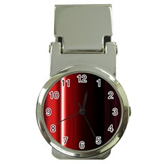 Black And Red Money Clip Watches