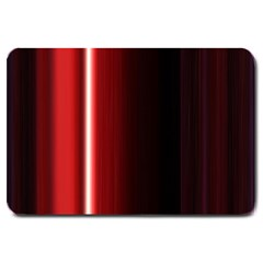 Black And Red Large Doormat