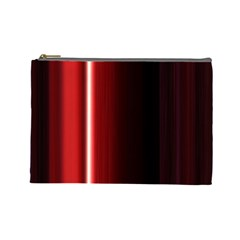 Black And Red Cosmetic Bag (Large)