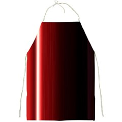 Black And Red Full Print Aprons