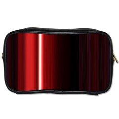 Black And Red Toiletries Bags 2 Side