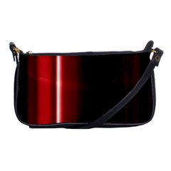 Black And Red Shoulder Clutch Bags