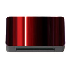 Black And Red Memory Card Reader With Cf