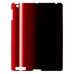 Black And Red Apple Ipad 3/4 Hardshell Case