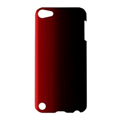 Black And Red Apple Ipod Touch 5 Hardshell Case