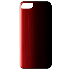 Black And Red Apple Iphone 5 Classic Hardshell Case