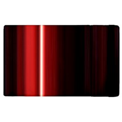Black And Red Apple Ipad 2 Flip Case