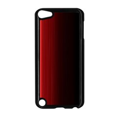 Black And Red Apple Ipod Touch 5 Case (black)