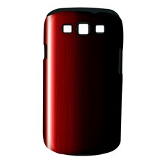 Black And Red Samsung Galaxy S III Classic Hardshell Case (PC+Silicone)