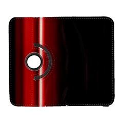 Black And Red Galaxy S3 (flip/folio)