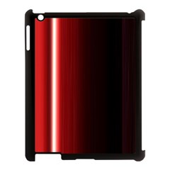 Black And Red Apple Ipad 3/4 Case (black)