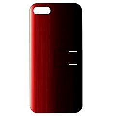 Black And Red Apple Iphone 5 Hardshell Case With Stand