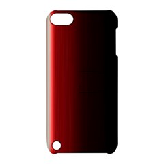 Black And Red Apple Ipod Touch 5 Hardshell Case With Stand