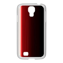 Black And Red Samsung Galaxy S4 I9500/ I9505 Case (white)
