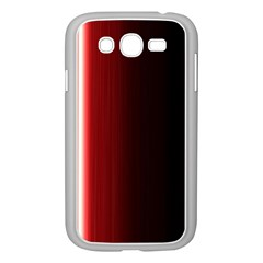 Black And Red Samsung Galaxy Grand Duos I9082 Case (white)