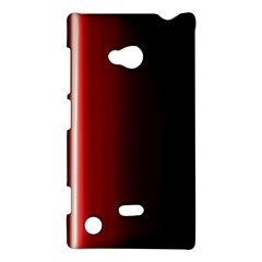Black And Red Nokia Lumia 720