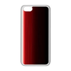 Black And Red Apple Iphone 5c Seamless Case (white)