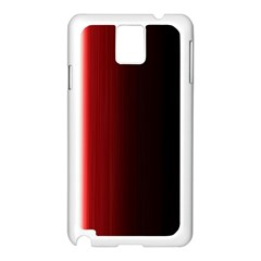 Black And Red Samsung Galaxy Note 3 N9005 Case (white)