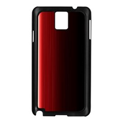 Black And Red Samsung Galaxy Note 3 N9005 Case (black)