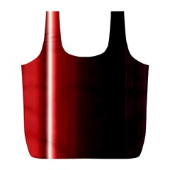 Black And Red Full Print Recycle Bags (l)