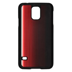 Black And Red Samsung Galaxy S5 Case (black)