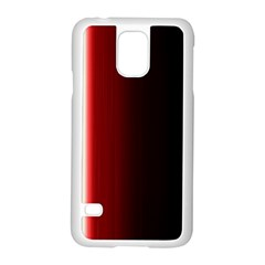 Black And Red Samsung Galaxy S5 Case (white)