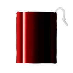 Black And Red Drawstring Pouches (large)