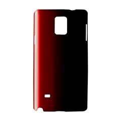 Black And Red Samsung Galaxy Note 4 Hardshell Case