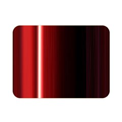 Black And Red Double Sided Flano Blanket (mini)