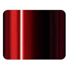 Black And Red Double Sided Flano Blanket (large)
