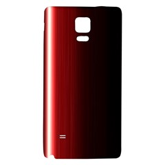 Black And Red Galaxy Note 4 Back Case