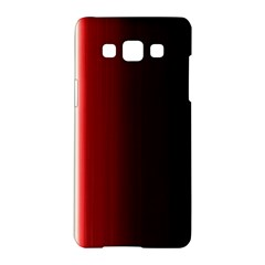 Black And Red Samsung Galaxy A5 Hardshell Case