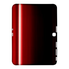 Black And Red Samsung Galaxy Tab 4 (10 1 ) Hardshell Case